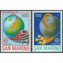 5x San Marino 1988. Europa...