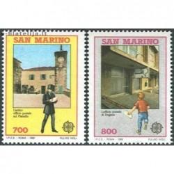 10x San Marinas 1990....