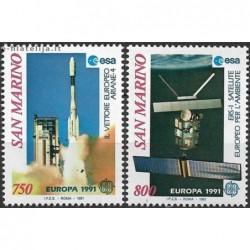 5x San Marinas 1991. Europa...