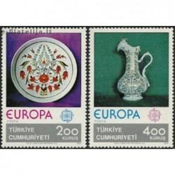 5x Turkija 1976. Europa...