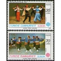 10x Turkey 1981. Europa...