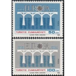 5x Turkija 1984. Europa...