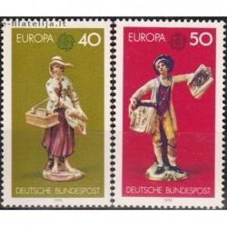 10x Vokietija 1976. Europa...