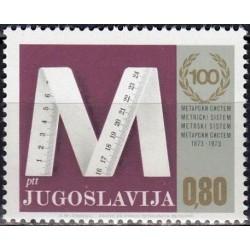 Yugoslavia 1974. Metric system