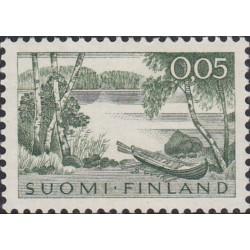 Finland 1963. Landscape