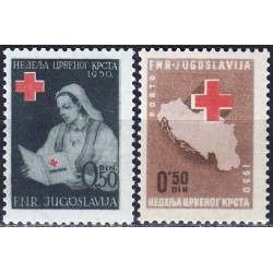 Yugoslavia 1950. Red Cross...