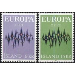 Iceland 1972. Europa CEPT
