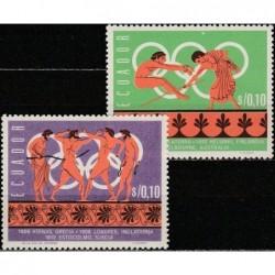 10x Ekvadoras 1966....