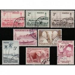 10x Gvinėja 1959....