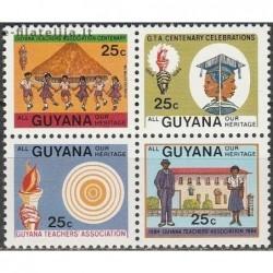 10x Guyana 1984. Wholesale...