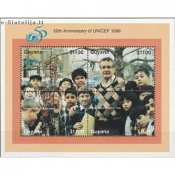 5x Guyana 1996. Wholesale...