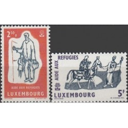 10x Luxembourg 1960....