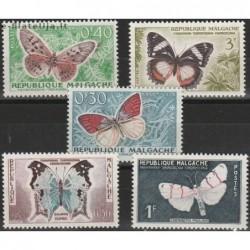 10x Madagascar 1960....