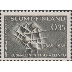 Suomija 1965. Savivalda