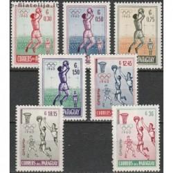 10x Paraguay 1960....