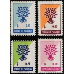 10x Paraguay 1961....