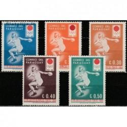 10x Paragvajus 1964....