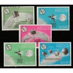 10x Paraguay 1965....