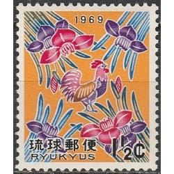 10x Ryukyu Islands 1968....