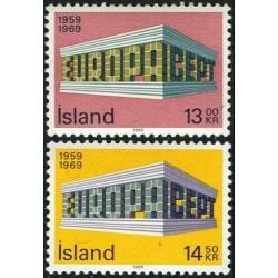 Iceland 1969. EUROPA & CEPT...