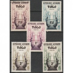 10x Togas 1957....