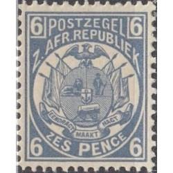5x Transvaal (ZAR) 1885....