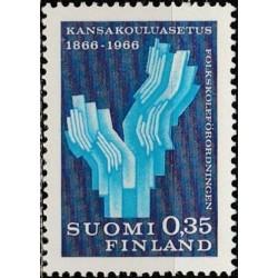 Suomija 1966. Švietimas...