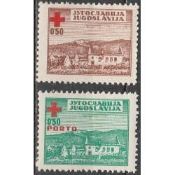 10x Yugoslavia 1947....