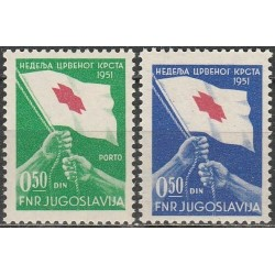 10x Jugoslavija 1951....