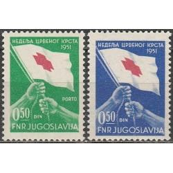 10x Yugoslavia 1951....