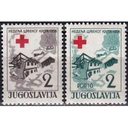 10x Yugoslavia 1956....