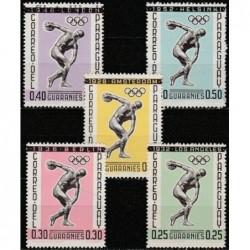5x Paragvajus 1962....