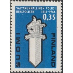 Finland 1966. Police...