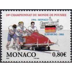 Monakas 2003. Ledrogės