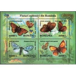 Rumunija 2002. Drugeliai