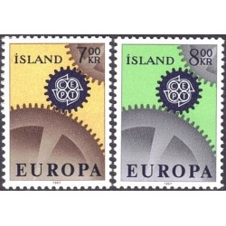 Islandija 1967. CEPT:...