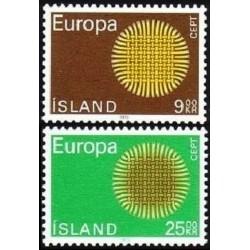 Iceland 1970. CEPT:...