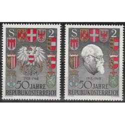 10x Austrija 1968....