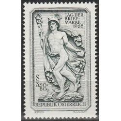 10x Austria 1968. Stamp Day...