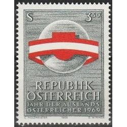 10x Austria 1969. Emigrants...