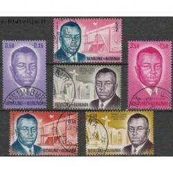 10x Burundi 1963. Prince...