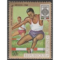 10x Burundis 1968. Meksiko...