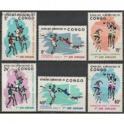 10x Kongas (Kinšasa) 1965....
