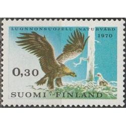 Finland 1970. Golden eagle