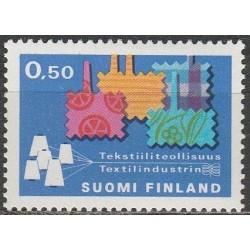 Finland 1970. Textil industry