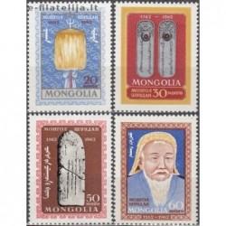 10x Mongolia 1962. Genghis...
