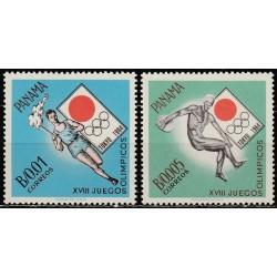 10x Panama 1964. Tokijo...