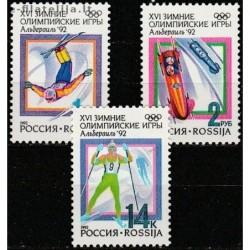 10x Russia 1992. Winter...