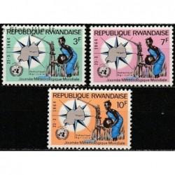 5x Ruanda 1964....