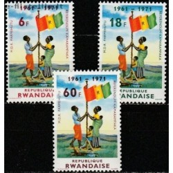 5x Ruanda 1972. Nacionalinė...
